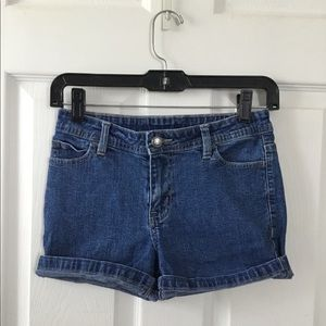 Faded Glory Blue Denim Shorts